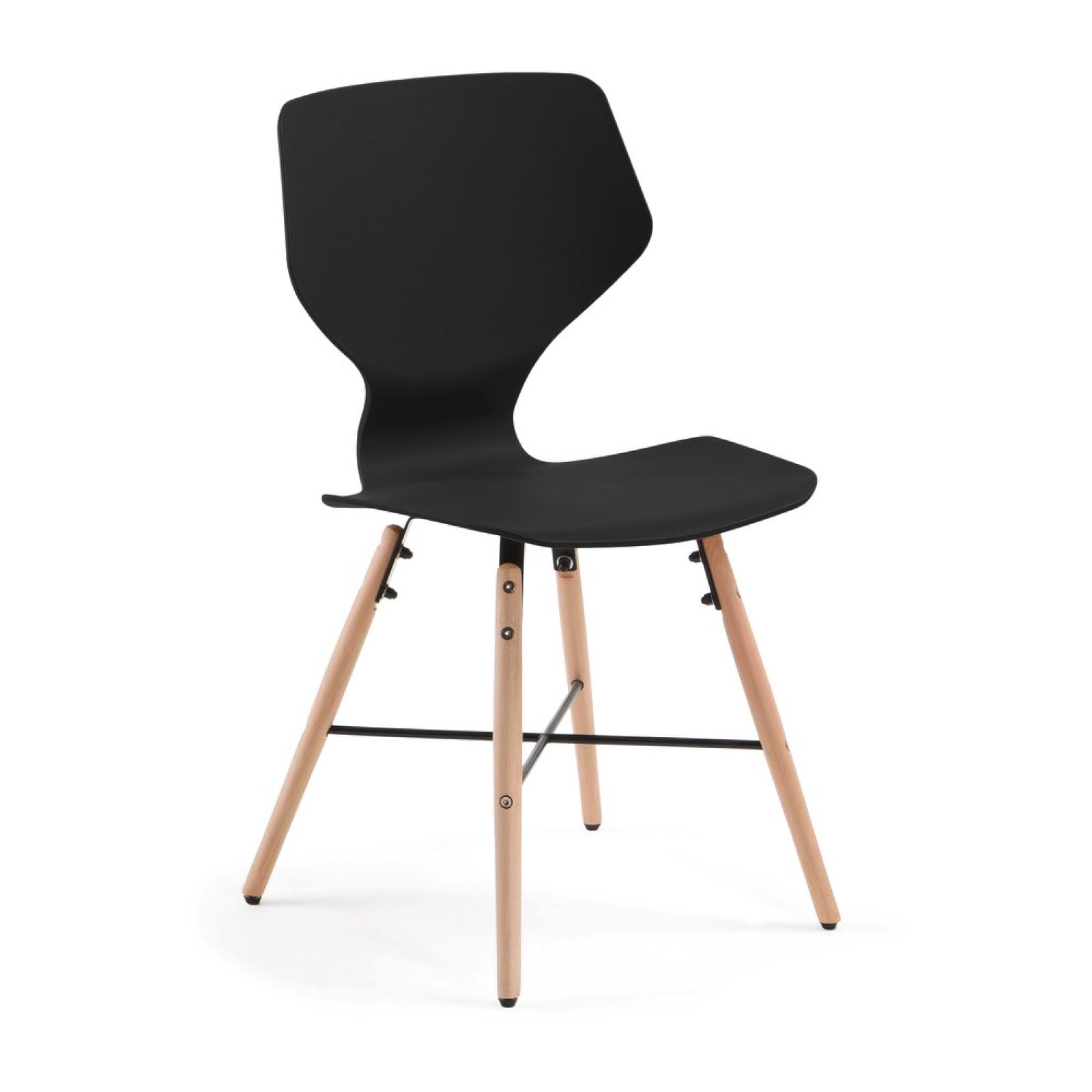chaise plastique noir interesting rsultat suprieur chaise salon design pas cher meilleur de. Black Bedroom Furniture Sets. Home Design Ideas
